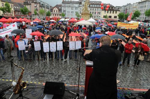 Der 1. Mai 2015 in Mannheim, Foto: helmut-roos@web.de