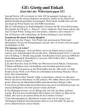 """Das Flugblatt des RSB Rhein-Neckar vom 7.3.2016, """"GE: Gierig und Eiskalt"""" zum Download."""