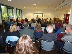 Frankreich Veranstaltung mit Bernard Schmid, 16.06.2016 in Mannheim. Foto: Avanti²