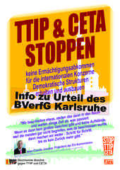 Info des Mannheimer Bündnis gegen TTIP und … <a href=