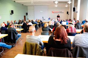 Konferenz Betriebsräte im Visier am 15. Oktober 2016 in Mannheim. Foto: helmut-ross@web.de