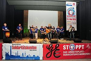 Am 13. Mai findet das ebenfalls von Bernd Köhler organisierte und von der IG Metall maßgeblich unterstützte große GE-Solifest im Kulturhaus Mannheim Käfertal statt. Foto: helmut-roos@web.de