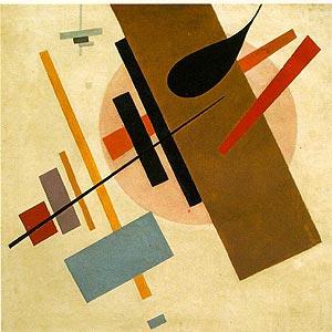 Kasimir Malewitsch: Suprematism (Supremus No. 58), 1916, Kunstmuseum in Krasnodar, Gemeinfrei, https://commons.wikimedia.org/w/index.php?curid=507939