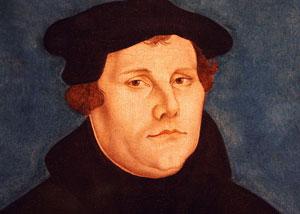 Bildnis Martin Luthers von Lucas Cranach dem Älteren, 1529. Foto: Wikimedia Commons, Gemeinfrei.