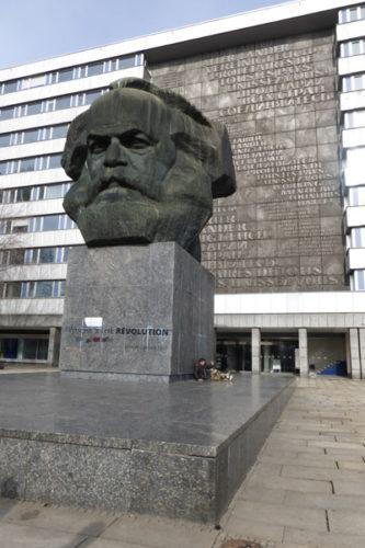 Marx-Denkmal in Chemnitz. Foto: Avanti²