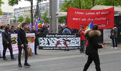 Ostermarsch in Mannheim 15. April 2017. Foto: Avanti².