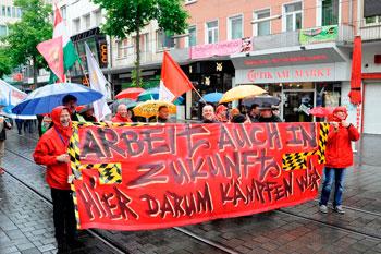 GE-Kollegen und Unterstützer. Foto: helmut-roos@web.de