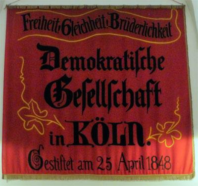 Auch Karl Marx war Mitglied - Exponat in der Rastatter Ausstellung. Foto: Avanti².