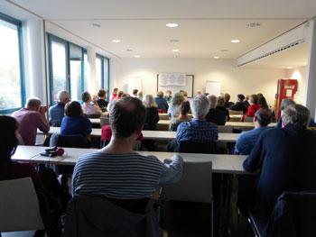 Veranstaltung mit Diane Feeley in Mannheim, 11.09.2017. Foto: Avanti².