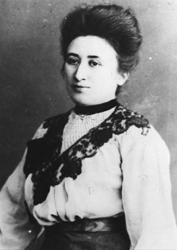 Rosa Luxemburg (geb. 5.3.1871 in Zemosé, ermordet am 15.1.1919 in Berlin). Foto: Gemeinfrei - Commons Bundesarchiv