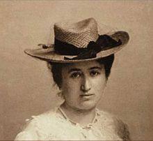 Rosa Luxemburg (um 1895-1900). Foto: Gemeinfrei.