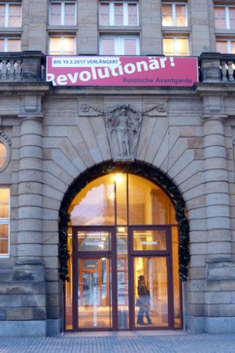 """Besuch der Ausstellung """"Revolutionär! - Russische Avantgarde"""" in Chemnitz, 25.02.2017. Foto: Avanti²."""