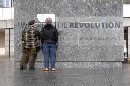 ch des Karl-Marx-Denkmals in Chemnitz, 26.02.2017. Foto: Avanti².
