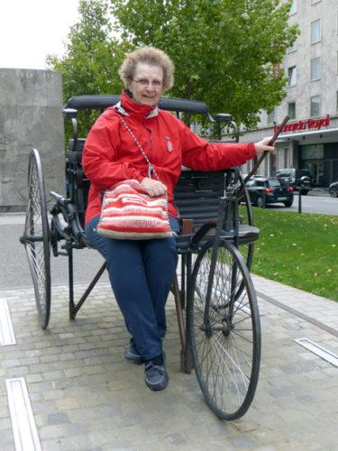 US-Gewerkschafterin Diane Feeley zu Besuch in Mannheim, 12.09.2017. Foto: Avanti².