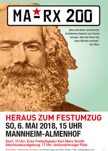 Plakat A3 zum Download. MA-RX-200 6.5.2018.