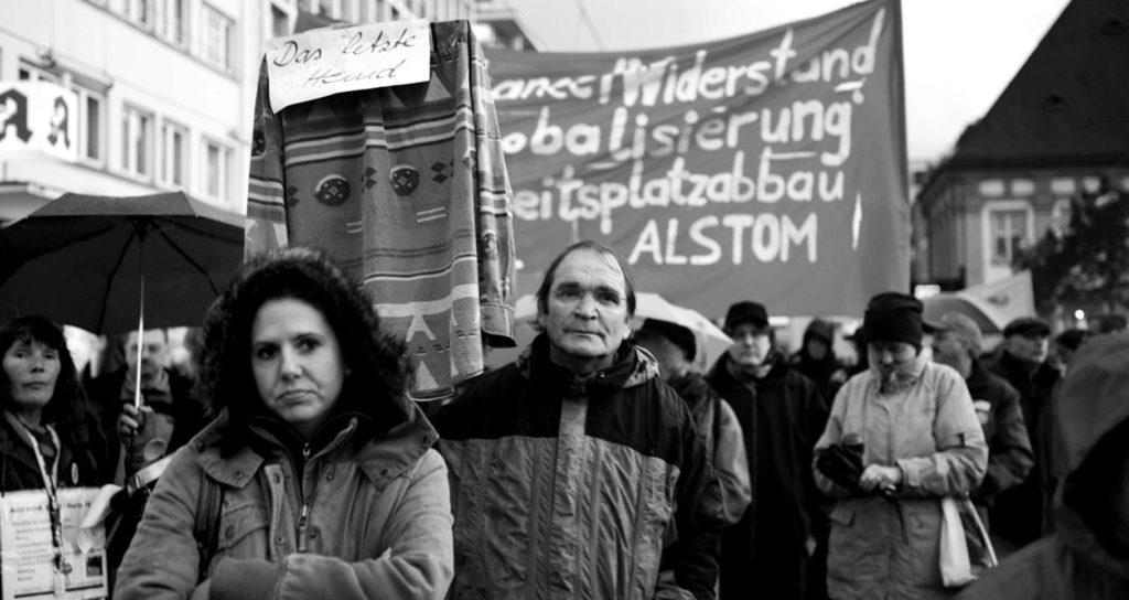 Demo gegen Agenda 2010 (Foto:Straube)