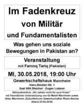 Veranstaltungsflyer zum Download - Veranstaltung 30.05.2018 in Mannheim