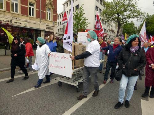 UniKlinikums am 01. Mai 2018 in Mannheim (Foto: Avanti)