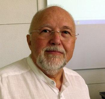 Klaus Schuhmann auf der Asbest-Tagung am 1. August 2018 in Mannheim