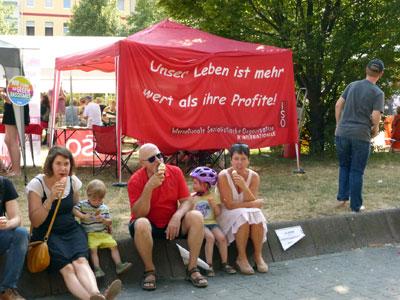 Solidaritätsfest Mannheim-Neckarstadt am 14. Juli 2018