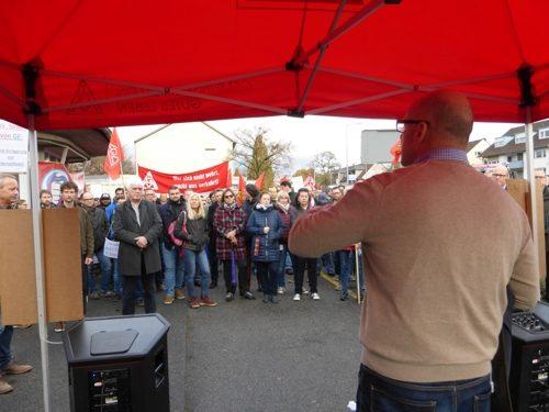 Protestkundgebung bei GE Power Mannheim 13.11.2018-(Foto:Avanti²)