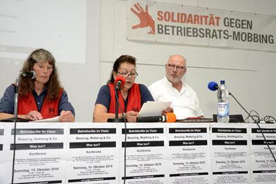 """Konferenz """"Betriebsräte im Visier"""" in Mannheim, 13. Oktober 2018 (Foto:helmut-roos@web.de)"""