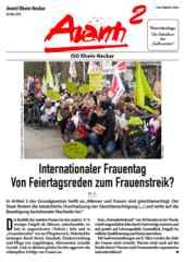 Avanti² Rhein-Neckar März 2019