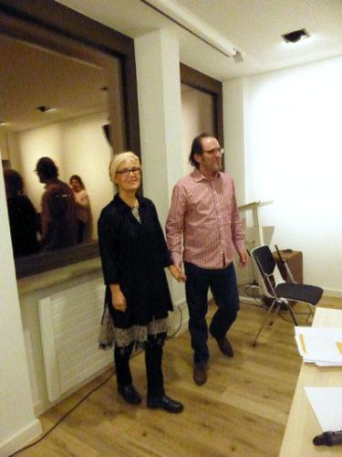Bettina Franke und Laurent Leroi, 28. Februar 2019 (Foto: Privat)