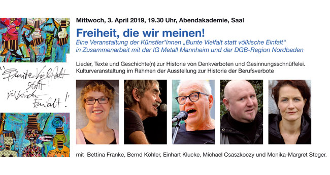 """Einladung zur Ausstellung und Kulturveranstaltung """"Vergessene"""" Geschichte."""