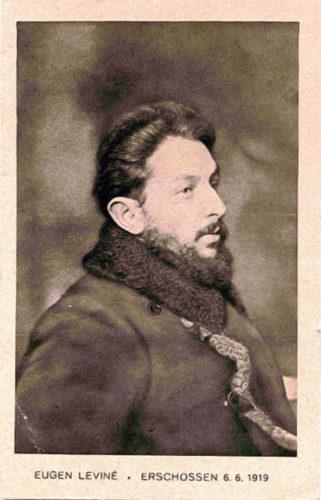 Eugen Leviné, erschossen 06.06.1919 (Privatarchiv, CDV)
