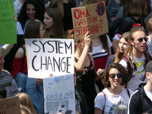 FFF-Demo in Mannheim, 24. Mai 2019 (Foto: Avanti²)