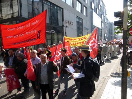 DGB-Demo am 1. Mai 2019 in Mannheim (Foto: Avanti²)