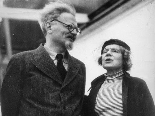 Natalia Sedowa und Leo Trotzki in Mexico 1938 (Bild: Socialist Action)