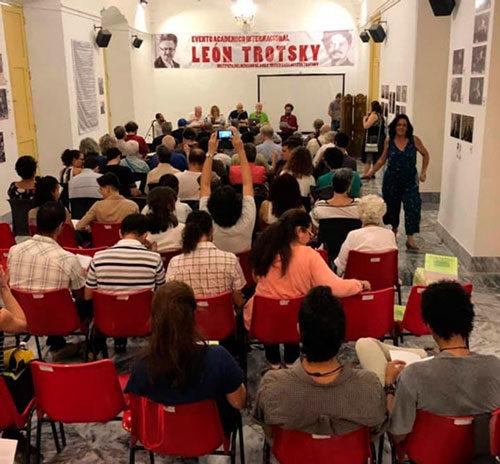 Plenum Trotzki-Konferenz in Havanna (Foto: Ideas de Izquierda, Mexico)