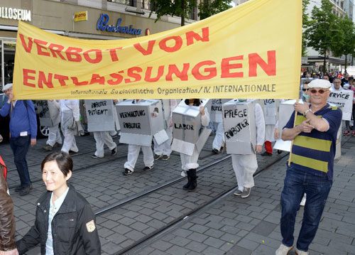 DGB-Demo am 1. Mai 2019 in Mannheim (Foro: hemut-roos@web.de)