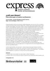"""Einladungsflugblatt zur Filmveranstaltung """"Luft zum Atmen"""" am 07.10.2019"""