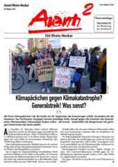 Avanti² Rhein-Neckar Oktober 2019