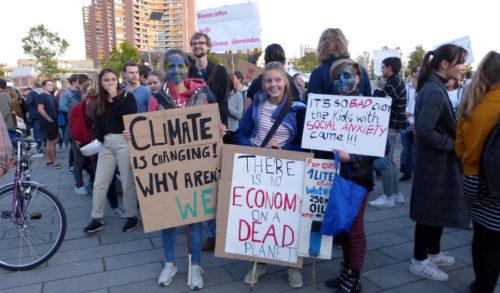 Internationaler Klimastreik in Mannheim, 20. September 2019 (Foto: Avanti²)