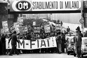 """""""Heißer Herbst"""" in Italien 1969 (Foto: Privatarchiv)"""