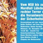Veranstaltung Vom NSU bis ... am 2019-11-20 Banner-web