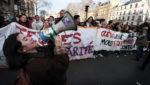 "Streikdemo in Paris gegen die ""Rentenreform"", 17. Dezember 2019 (Copyright Photothèque Rouge: Martin Noda, Hans Lucas)"