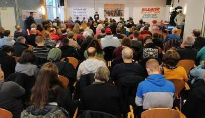 Plenum der Konferenz in Frankfurt/Main (Foto: www.vernetzung.org)