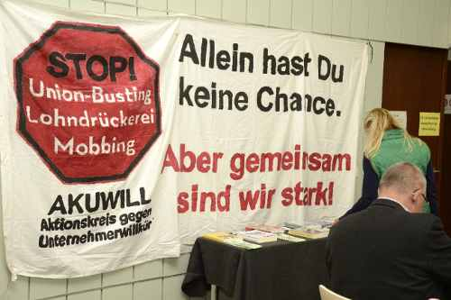 """6. Konferenz """"BR im Visier"""" in Mannheim, 19.20.2019 (Foto: helmut-roos@web.de)"""