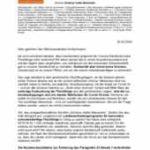 """Offener Brief vom Bündnis """"Sicherer Hafen Mannheim"""""""