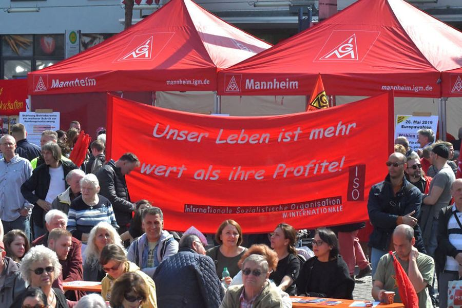 1. Mai 2019 in Mannheim (Foto: helmut.roos@web)