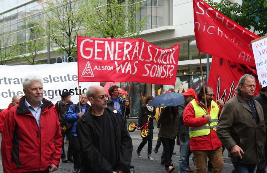 1. Mai 2015 in Mannheim (Foto:helmut-roos@web.de)