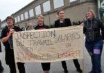 Protest von KollegInnen der Gewerbeaufsicht [Inspection du tavail] (Foto: Copyright Photothèque Rouge/Alice.D.)