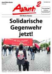 Avanti² Rhein-Neckar Juni 2020