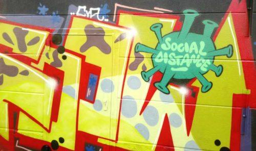 Graffiti in Essen. April 2020 (Foto: Avanti O.)