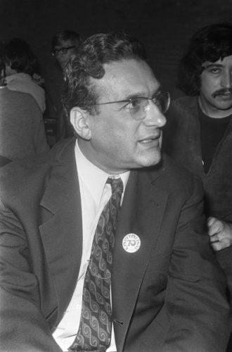 Ernest Mandel 1970 bei einem Kongress über Kapitalismus in den Niederlanden (Foto: www.ernestmandel.org)